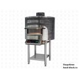 Печь для пиццы с вращающимся подом Morello Forni FRV 100 (станд.исполнение)