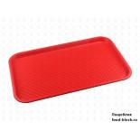 Пластиковый поднос  Restola 422107804 (525x325 мм, красный)