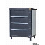 Подовая хлебопекарная печь НПФ ХПЭ-750/500.41 эмаль