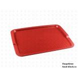 Пластиковый поднос  Restola 422108004 (красный)