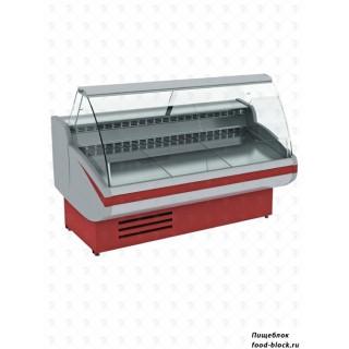 Универсальная холодильная витрина Cryspi ВПСН 0,50-0,85 (Gamma-2 SN 1200) (RAL 3004)