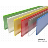 Ценникодержатель Display solutions самоклеющийся DBR39-TP9-1250, красный