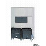 Бункер для льдогенератора Brema DoubleRollerBin 1200 для серии Мuster