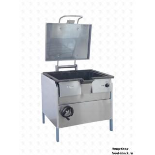 Электрическая сковорода Тулаторгтехника СЭСМ-0,25ЛЧ с наклоняемой чашей чугун