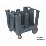 Пластиковая тележка и шпилька  Cambro Тележка ADCS 401 (для тарелок)