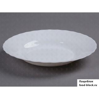 Столовая посуда из стекла Arcoroc TRIANON Тарелка суповая 22.5 см D6889