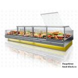 Холодильная витрина JBG-2 LDL-2,5-26 RAL 1023