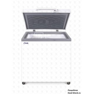 Морозильный ларь с глухой крышкой Снеж МЛК 250 (белый)