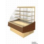 Кондитерская холодильная витрина Cryspi ВПВ 0,30-1,54 (Elegia К 1240 Д) (RAL 1001)