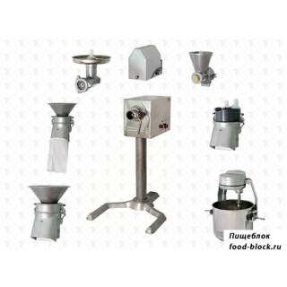 Универсальная кухонная машина ПермьТоргМаш УКМ полный комплект ПМ+ММ+МО+ВМ+МП-01+МР+МИ+П-01