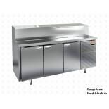 Холодильный стол для пиццы HiCold тип HT модель PZ2-11/GN (1/6H) для пиццы