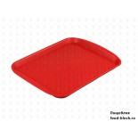 Пластиковый поднос  Restola 422109004 (330х260, красный)