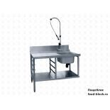 Стол и аксессуар для посудомоечной машины Abat Стол предмоечный СПМП-6-3