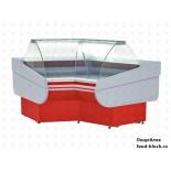 Холодильная витрина Премьер среднетемпературная угловая ВСУП1-0,22ТУ/F1в-УВ (внутр)