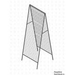 Стойка/стендлясетка из металлической сетки Гефест Стенд шалаш 1830х630