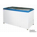 Морозильный ларь с прямым стеклом Italfrost ЛВН 500 П (СF 500 F) (синий)