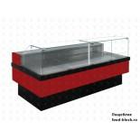 Холодильная витрина Enteco Master НЕМИГА CUBE 150 ВС RAL 3003