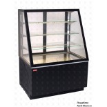 Кондитерская холодильная витрина UNIS Cool ALDAN BASIC 1000 STRAIGHT черная