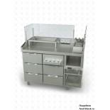 Холодильный стол Atesy хот-дог-станция Бавария ХДС-3/1235