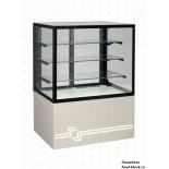 Кондитерская холодильная витрина UNIS Cool CUBE 1000 (RAL 1013)
