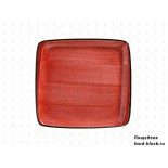 Столовая посуда из фарфора Bonna тарелка квадратная PASSION AURA APS MOV 28 KR