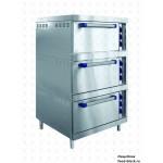Электрический жарочный шкаф Abat ШЖЭ-3 (глухая нерж. дверка)
