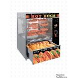 Аппарат для хот-догов СИКОМ МК-1.44с каруселью и люльками на 44 хот-дога(выдвижной ящик для булок)
