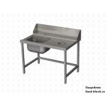 Стол и аксессуар для посудомоечной машины Vortmax СВ12075ВХП