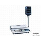Весы торговые для определения массы и цены CAS AP-6 EX