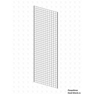 Стойка/стендлясетка из металлической сетки Гефест Сетка 2000х600 с двойной окантовкой