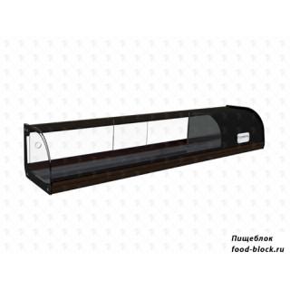 Горизонтальная барная витрина Полюс холодильная ВХСв-1,0 Carboma