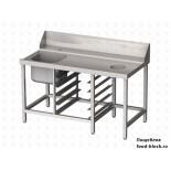 Стол и аксессуар для посудомоечной машины Vortmax СВ15075ВХП