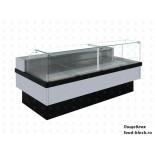 Холодильная витрина Enteco Master НЕМИГА CUBE 150 ВС RAL 9006