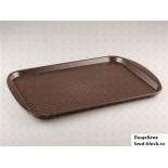 Пластиковый поднос  Restola 422106614 (450x350 мм, коричневый)