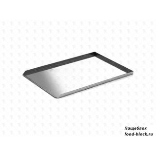Противень WLBake алюминиевый, 600х400х20, 3 борта