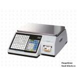 Весы с печатью самоклеящихся этикеток CAS CL-3000-15B
