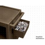 Пластиковая тележка и шпилька  Cambro Держатель для столовых приборов BC1115SH 192