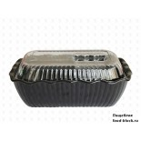 Посуда из пластика Perfect Салатник P-042 (черный)