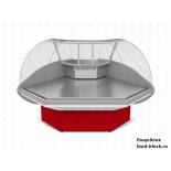 Холодильная витрина Марихолодмаш Илеть ВХС-УН (угол наружний)