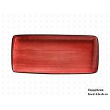 Столовая посуда из фарфора Bonna блюдо прямоугольное PASSION AURA APS MOV 49 DT