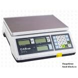 Весы торговые для определения массы и цены CAS ER-Jr-30CB