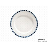 Столовая посуда из фарфора Bonna Mistral тарелка плоская (21 см)