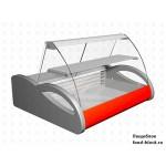 Горизонтальная барная витрина Полюс холодильная ВХС-1,0 Арго