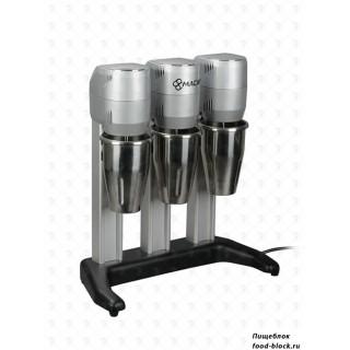 Миксер для коктейлей на 3 стакана Macap F4T C10 (серый)
