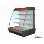Горка холодильная Enteco Master НЕМИГА 250П ВС RAL 3000
