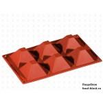 Форма Pavoni FR 007 (пирамида, 71x71, h40)