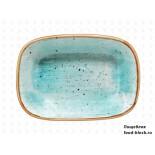 Столовая посуда из фарфора Bonna блюдо прямоугольное AQUA AURA AAQ GRM 12 DKY