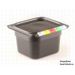 Гастроемкость Restola 1/6 422102013 (цвет черный)