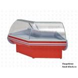 Холодильная витрина Премьер среднетемпературная угловая ВСУП1-0,22ТУ/F1в-УН (наружн)