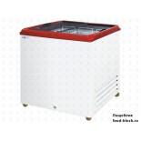 Морозильный ларь с прямым стеклом Italfrost ЛВН 200 П (СF 200 F) (красный)